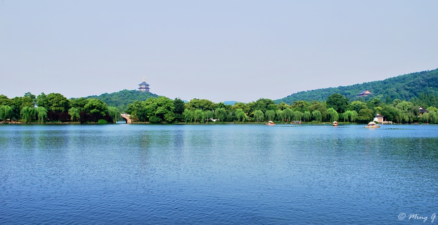Bai Di and Leifeng Pagoda - The West Lake