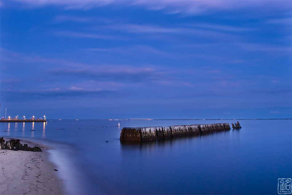 Night at Sayville Beach