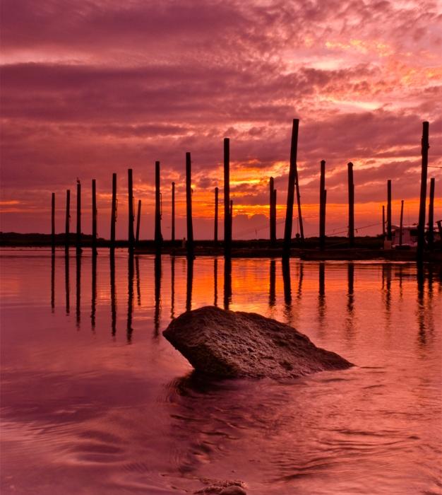 Stony Brook Bay Sunset