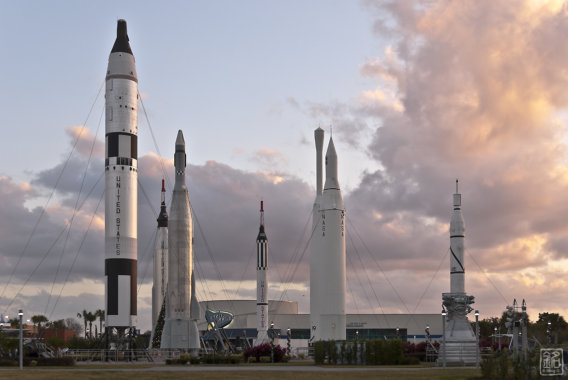 Reaching for the Sky: Kennedy Space Center Visitor Center