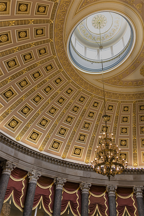 Ceiling of National Statuary Hall