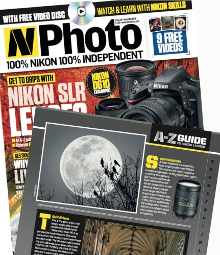 N-Photo published Ode to the Moon in the November 2013 Issue.