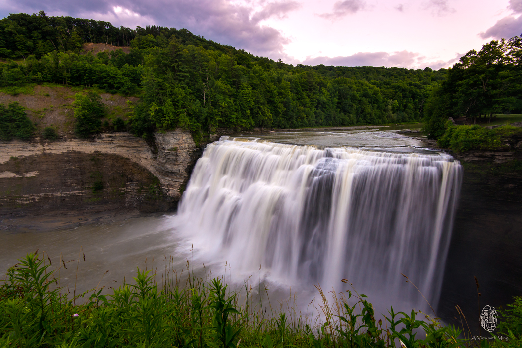 Letchworth State Park - Middle Fall