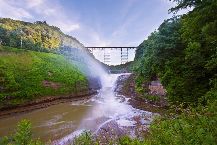 Letchworth State Park, New York - Upper Fall