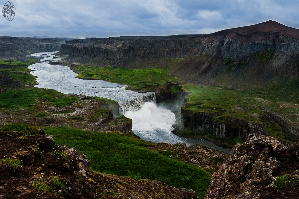 Hafragilsfoss in Northern Iceland