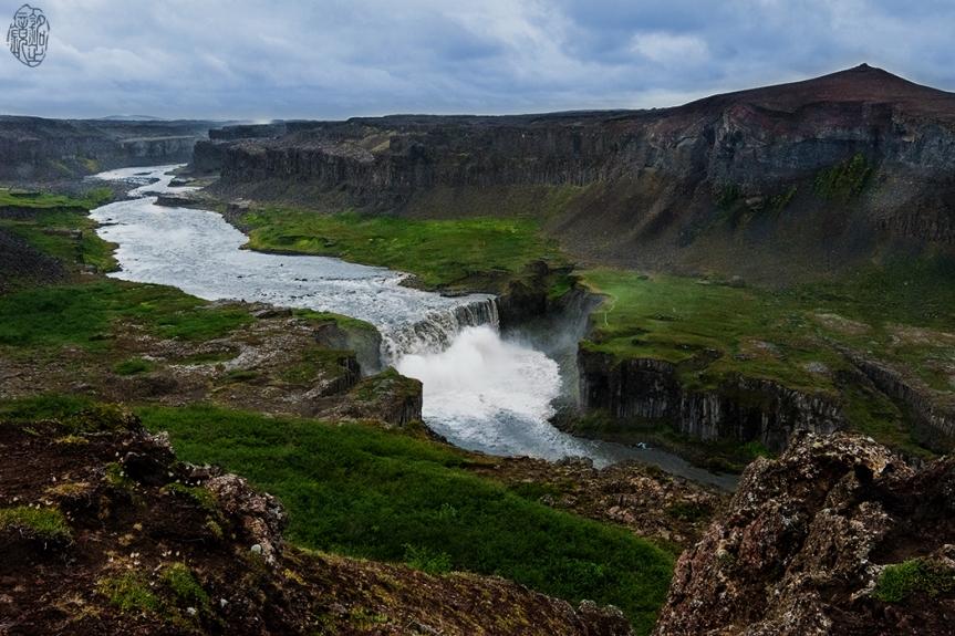 Hafragilsfoss in Northern Iceland